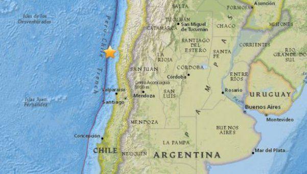 Nuevo terremoto de 6.9 grados afectó el norte de Chile