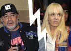 Maradona vs. Claudia: después del revés judicial, ella contraataca