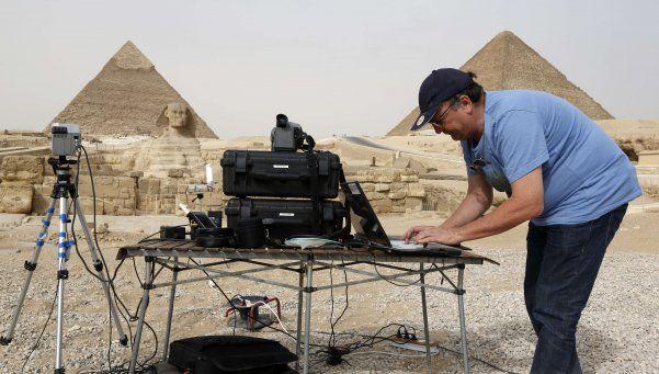 """Detectan """"anomalías térmicas"""" en la pirámide de Keops"""