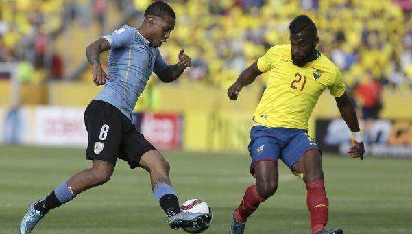 Ecuador derrotó a Uruguay y sigue con puntaje ideal