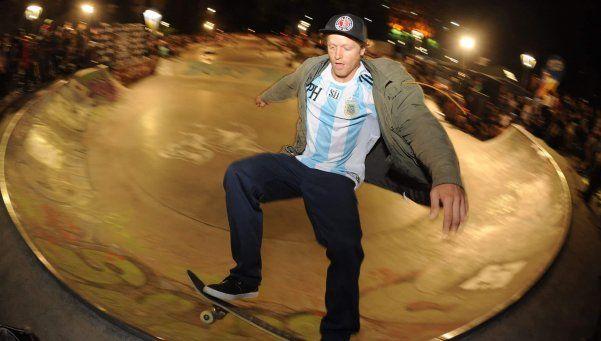 El Messi del skate pasó por Argentina