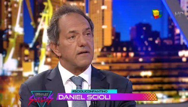 Scioli, con Fantino: economistas de Macri espantan a la gente