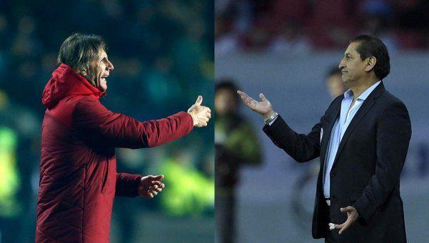 Gareca le ganó a Ramón en el duelo de técnicos argentinos