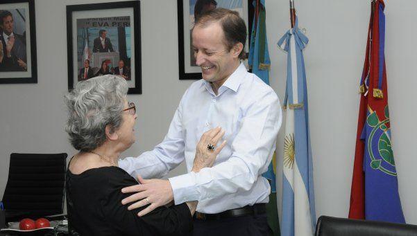 Abuela del nieto recuperado 118 fue homenajeada en Lomas