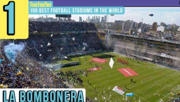 Eligen a La Bombonera como el mejor estadio del mundo