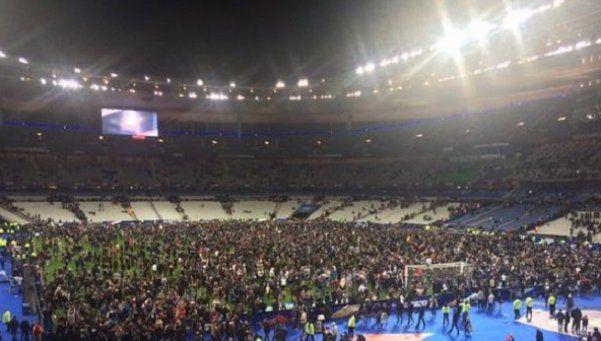 Video | Así se escuchó la explosión en el amistoso Francia-Alemania