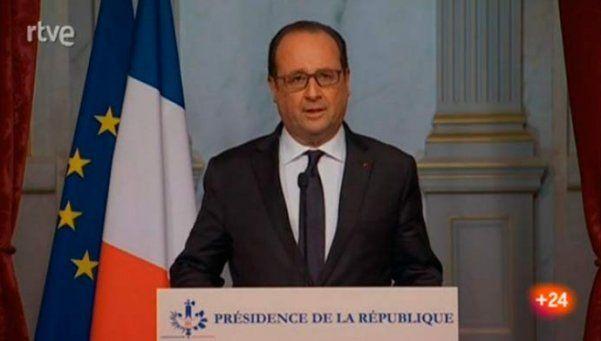 Hollande declaró estado de emergencia y cierra las fronteras