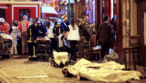 Atentados en París: son 129 los muertos