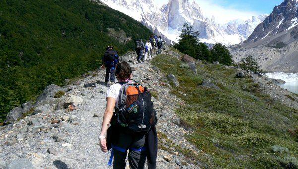 Senderismo, desafío de huellas aventureras