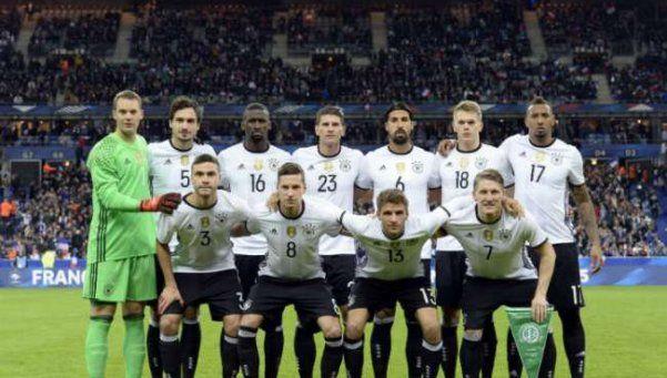 La selección alemana durmió en el estadio por temor a nuevos atentados