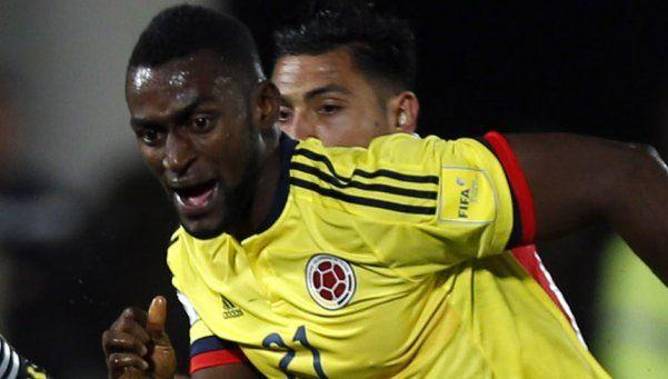 Colombia se lamenta por la baja de Jackson Martínez