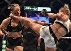 Ronda Rousey, la luchadora hot que recibió un duro KO
