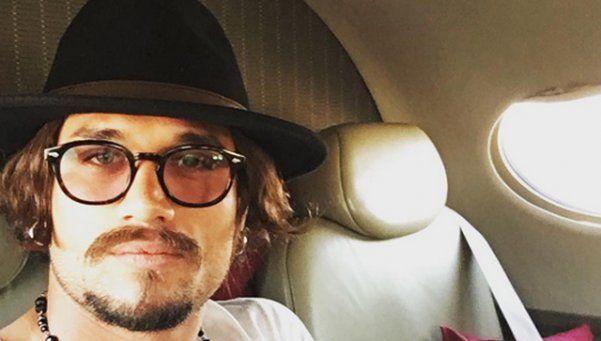 Daniel Osvaldo, de paseo por Madrid con su novia italiana