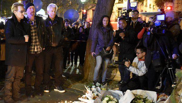 U2, Prince y Coldplay: shows suspendidos y lágrimas por París
