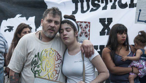 Leve mejoría en Lucas Cabello, el joven baleado por un policía