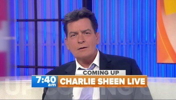 "Charlie Sheen confesó ser HIV positivo: ""Soy un sobreviviente"""