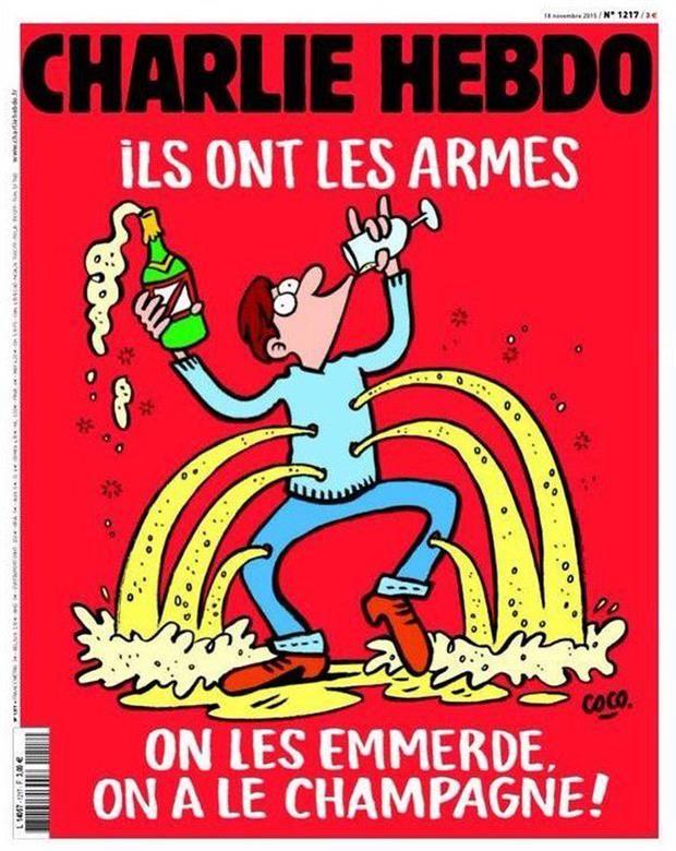 La polémica tapa de Charlie Hebdo tras los atentados en París