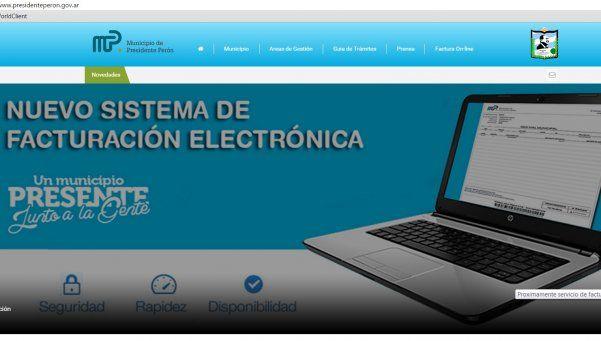 La era digital llegó a la administración de Presidente Perón