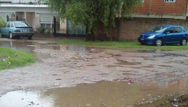 Las lluvias volvieron a complicar a una región que no sale a flote