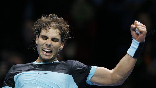 Rafael Nadal solamente es zurdo para el tenis