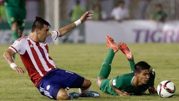 Paraguay se levantó rápido y se lo dio vuelta a Bolvia