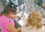 Salvan de ceguera a un bebé prematuro