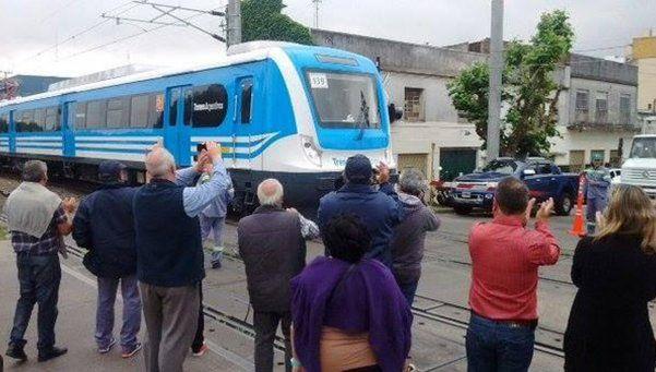 Pasó con  éxito la  prueba  del  tren eléctrico por Quilmes