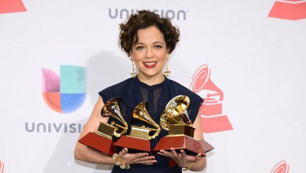 Natalia Lafourcade, la gran ganadora de los Grammys Latinos
