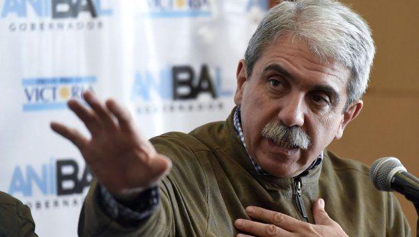 Aníbal Fernández: A Martín Lanatta lo agarró un bache