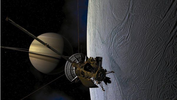 Buscan vida en una luna de Saturno