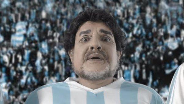Video | Martín Bossi lo hizo de nuevo: Diego, Lio y el balotaje