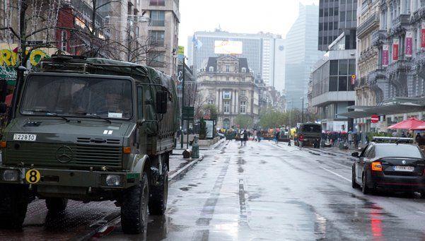 Bruselas declaró el alerta máxima por posibles atentados