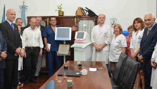 Aparatología para recién nacidos en el Hospital Evita