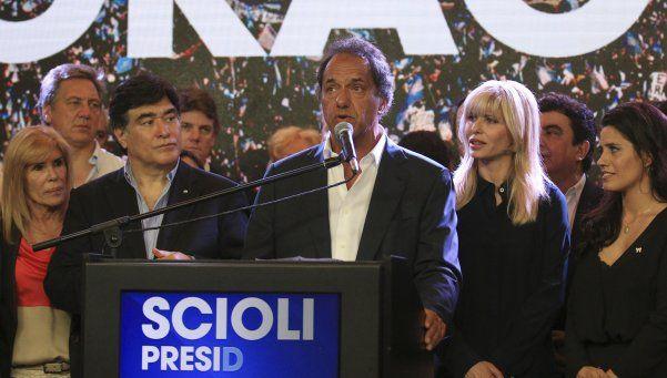 Scioli reconoció la derrota: Ojalá el cambio sea superador