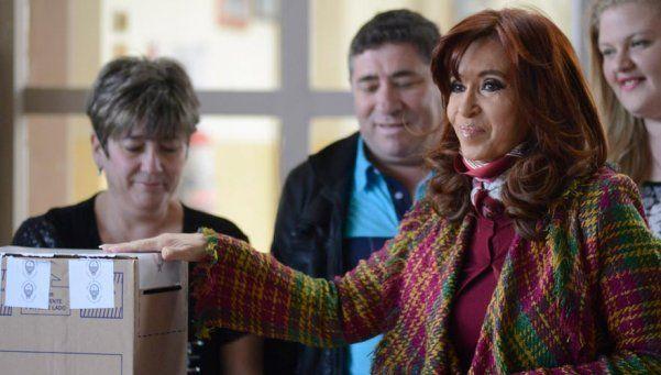 En la mesa donde votó Cristina, ganó... ¡Macri!