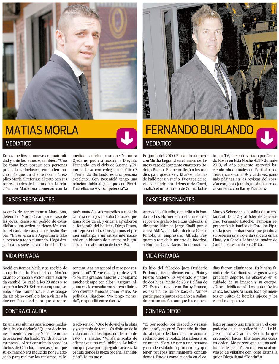 Frente a Frente: Matías Morla y Fernando Burlando
