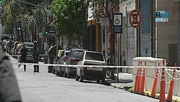 Detonaron un paquete sospechoso frente a la AMIA: hay un detenido