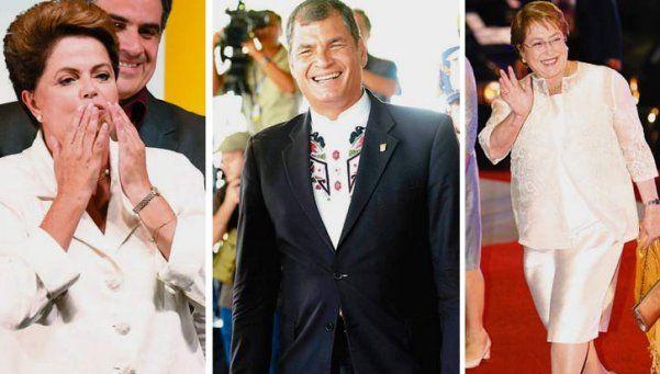 Líderes latinoamericanos desearon suerte a Macri