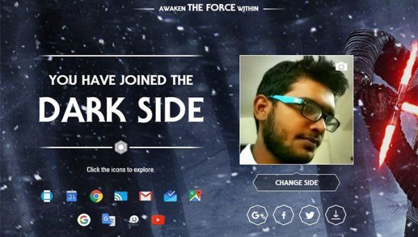 "Hasta Google se prende a la moda ""Star Wars"""