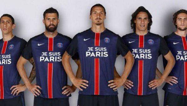 PSG sacó su publicidad y lucirá mensaje de solidaridad a París