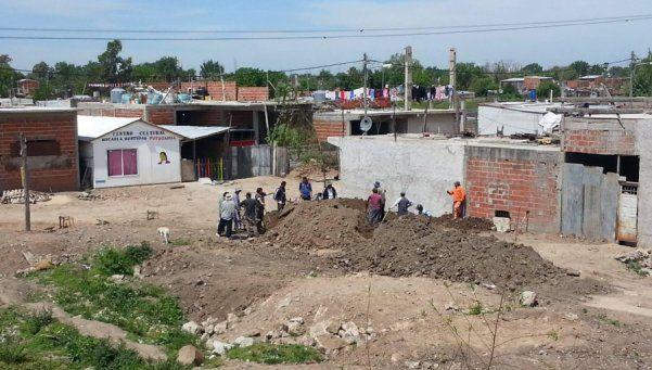 Una comunidad organizada inicia proceso de urbanización en Barrio Sebastián