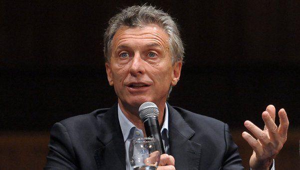 Macri: En la reunión estaremos la Presidenta y yo, a solas