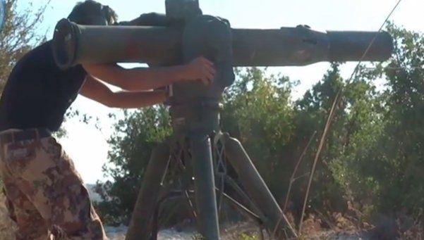 Video: así los sirios derriban un helicóptero ruso
