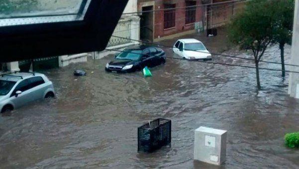 Temporal en Río Cuarto: hay alerta meteorológica