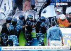 Escándalo y suspensión en el clásico entre Estudiantes y Almagro