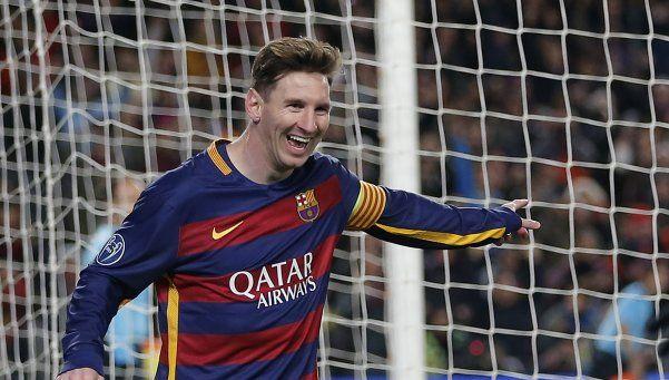Messi, el mejor jugador del 2015 según LEquipe