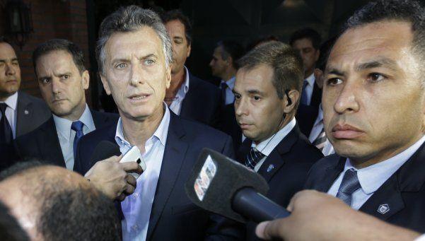 Macri y Cristina hablaron sólo del acto de traspaso
