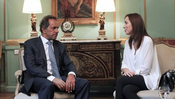 Scioli la criticó y Vidal le respondió: No es coherente con lo que hizo