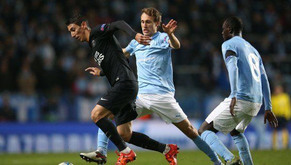 Di María convirtió dos goles en la goleada del PSG