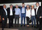 Guerra de fotos: Tinelli contestó a la de Segura con una junto a Vidal y Larreta